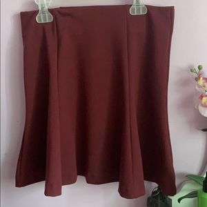 Old Navy Skirts - Maroon mini skirt